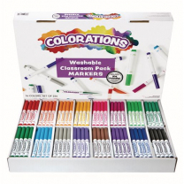 Colorations Washable Markers - Pack of 256