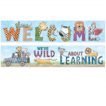 Safari Friends-Welcome Banner (2-sided)