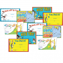 Dr. Seuss Certificate Variety Pack