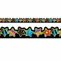 Poppin' Pattern Stars Trimmers