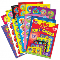 Kids' Choice Smelly Stickers Value Pack