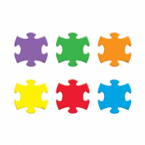 Puzzle Pieces Mini Accents