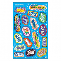 Shining Words Foil Stickers
