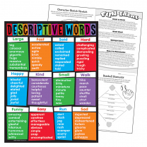 Descriptive Words Chart
