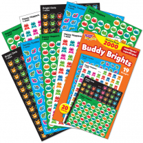 Buddy Brights Sticker Value Pack