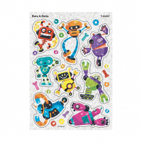 Bots and Bolts Sparkle Stickers