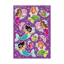 Mermaids and Friends Sparkle Stickers