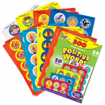 Positive Words Smelly Stickers Value Pack