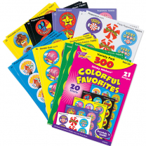 Colourful Favourites Scented Stickers Value Pack