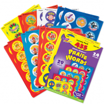 Praise Words Stinky Stickers Value Pack