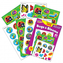 Bugs and Blooms Stinky Stickers Variety Pack
