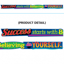 Success starts with Believing Banner