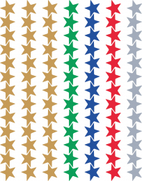 Foil Stars Stickers Value Pack