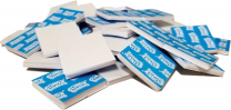Clingy Adhesive 25mm Squares