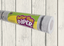 Backing Paper Rolls - White Wood