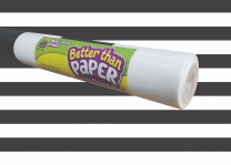 Backing Paper Rolls - Black and White Stripes