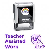 Teacher Assisted Work Stamp