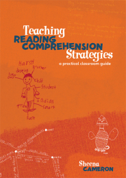 Teaching Reading Comprehension Book
