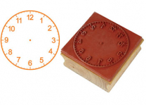 Clock Stamp - 12 Hours