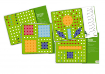 Peg Board Double-Sided Cards