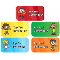 Top-notch Kids Personalised Stickers
