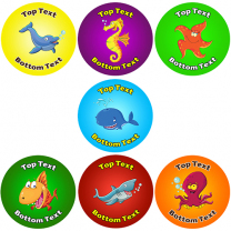 Under the Sea Personalised Stickers