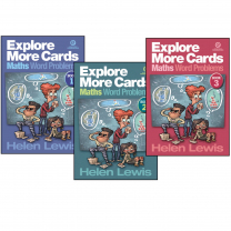 Explore More Cards - Maths Word Problems Books
