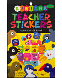 Kiwiana Teacher Stickers Pad
