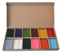 Spectrum Wax Crayons - Box of 120