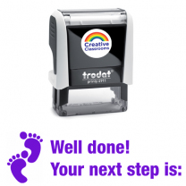 Well done! Your next step is Stamp