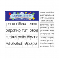 Magnetic Classroom Items in Maori