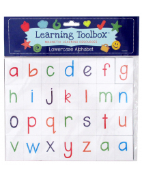 Magnetic Lowercase Sketch Letters