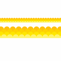 Yellow Ombre Trimmers