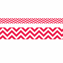Poppy Red Chevron Trimmers