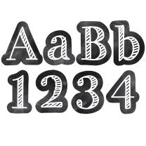 Chalk It Up! Alphabet Lettering
