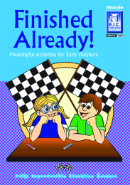 Finished Already Book - Ages 8-10