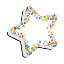Star Confetti Whiteboard Eraser