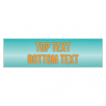 Teal Vibe Personalised Banner