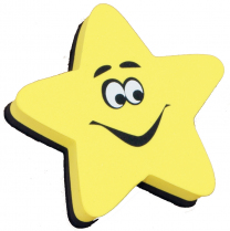 Shining Star Whiteboard Eraser