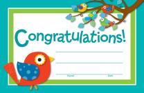 Congratulations-Boho Certificates