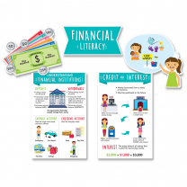 Financial Literacy Bulletin Board