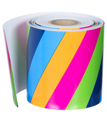 Colourful Stripes Trimmer Roll