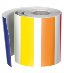 Vertical Rainbow Stripes Trimmer Roll