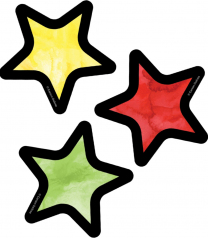 Stars Assorted Mini Accent Cards
