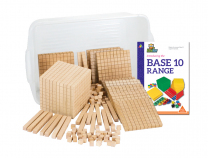 Wooden Base Ten Student Set