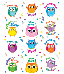 Owl Motivators Stickers