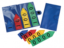Place Value Arrows Storage Wallet