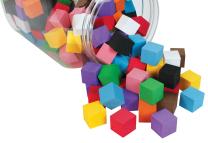 Foam Cubes 2cm