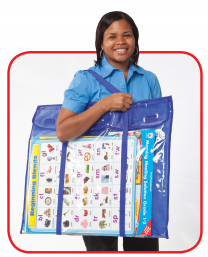 Deluxe Bulletin Board Storage Pocket Chart Storage
