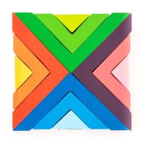 Square Wooden Puzzle
